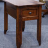Angle View Hudson Chairside Table