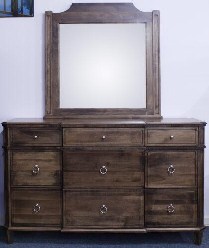 Custom Montour Dresser and Mirror