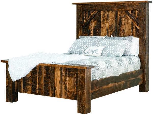 Portland Rough Sawn Bed