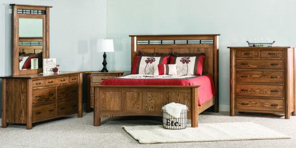 Custom Fenwood Bedroom Setting