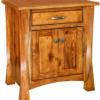 Rustic Hickory Lexington Two Door Nightstand