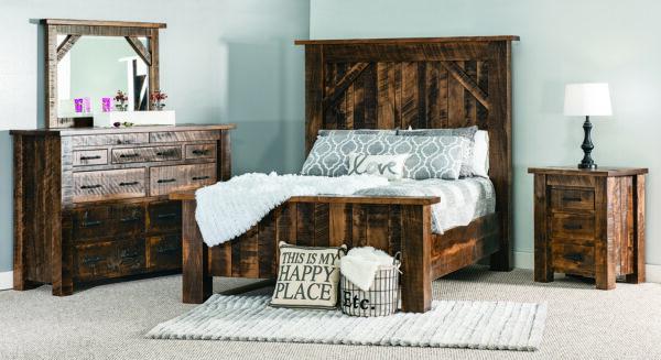 Amish Portland Bedroom Collection