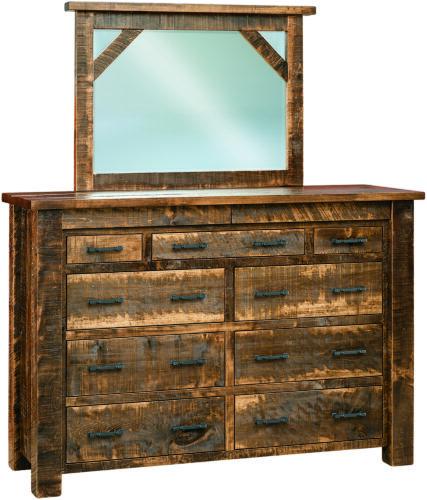 Portland Nine Drawer Mule Dresser