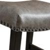 Detail View of Carter Stationary Bar Stool