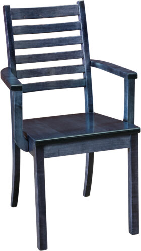 Amish Maple City Dining Chair with Arms