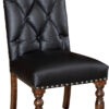 Amish Olson Chair with Button Detail