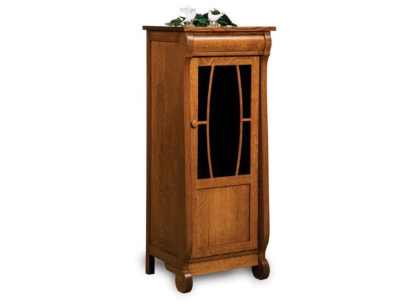 Amish Old Classic Sleigh Stereo Cabinet