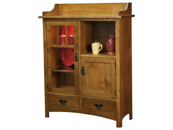 Amish Pottery Cabinet