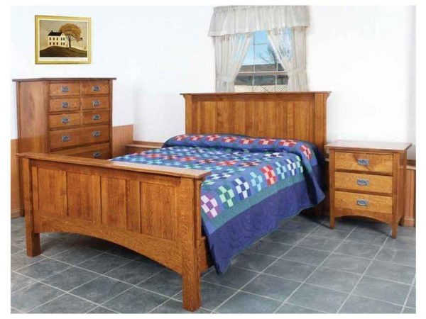 Amish Arts and Crafts Bedroom Set