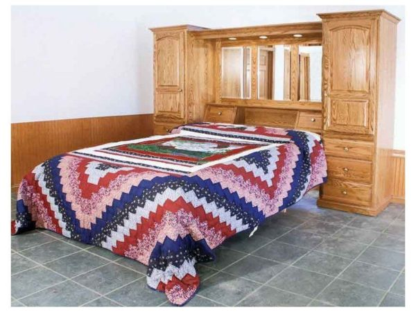 Amish Country Pier Bed Suite