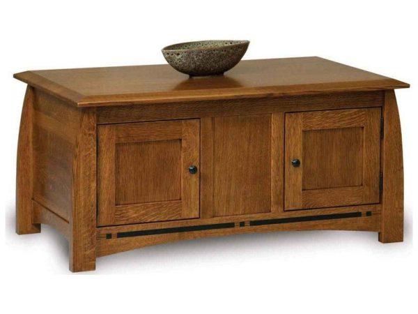 Amish Boulder Creek Enclosed Coffee Table