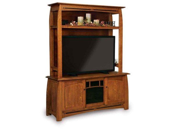 Amish Boulder Creek Three Door LCD Cabinet
