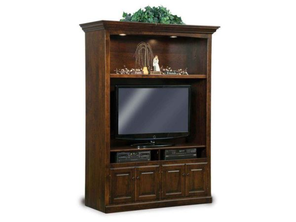 Amish Victorian Style Entertainment Center