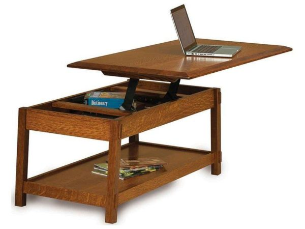 Amish Colbran Coffee Table with Lift Top