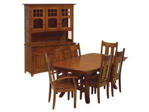 A Shaker style dining set