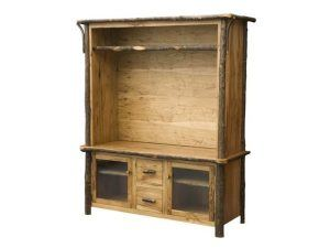Hickory TV Console Hutch