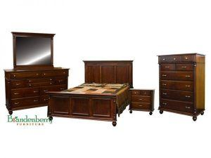 Amish LaCourt Bedroom Set