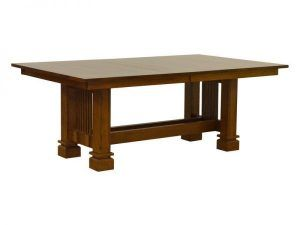 Strength & Style: Sante Fe Mission Dining Table