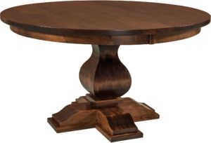 Barrington Single Pedestal Dining Room Table