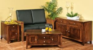 Amish Canola Living Room Collection