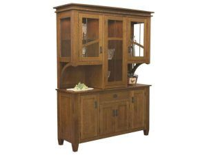 Solid Wood Empire Hutch