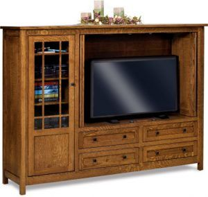 Centennial Three Door Entertainment Center