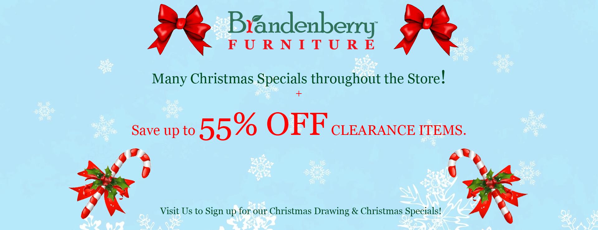 Brandenberry Christmas Sale