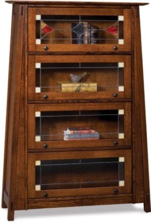 Amish Barrister Bookcase