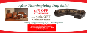 Brandenberry After Thanksgiving Sale Information