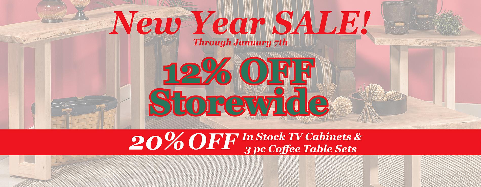 Amish furniture website new year sale brandenberry 2019