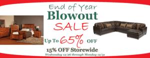 Brandenberry Year End Sale 2018