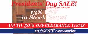Amish Furniture Presidents Day Sale Brandenberry Furniture 2019