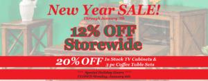 Shipshewanas Brandenberry Amish Furniture New Year Sale 2020
