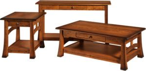 Brady Amish Coffee Table Set