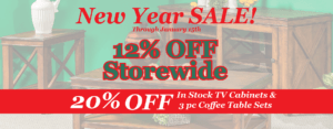 New Year Amish Furniture Sale by Brandenberry Amish Furniture