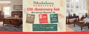 Brandenberry Amish Furniture 12th Anniversary Sale