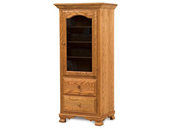 Amish Hoosier Heritage Stereo Cabinet
