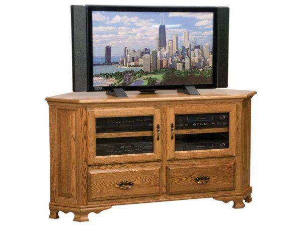 Amish Heritage Large Corner TV Stand